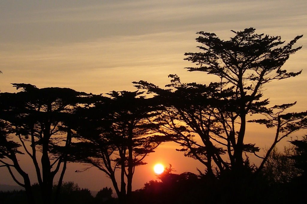 Sunset in Rosslare