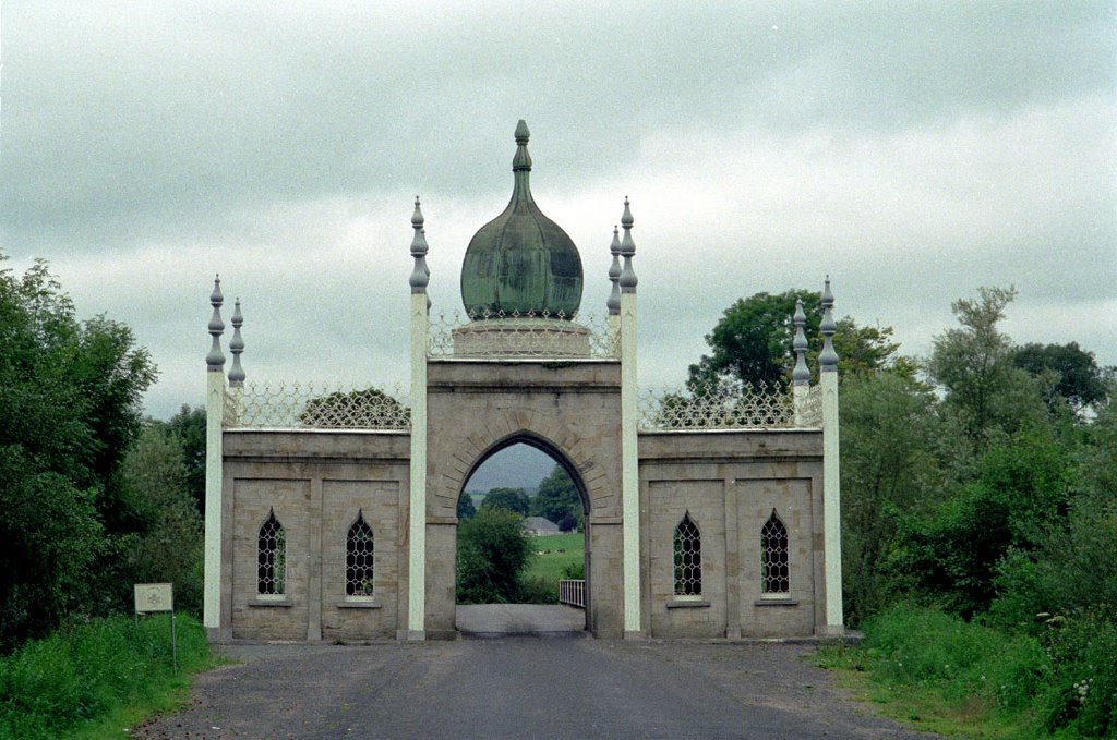 Dromana Gate, partly hindu and partly gothic