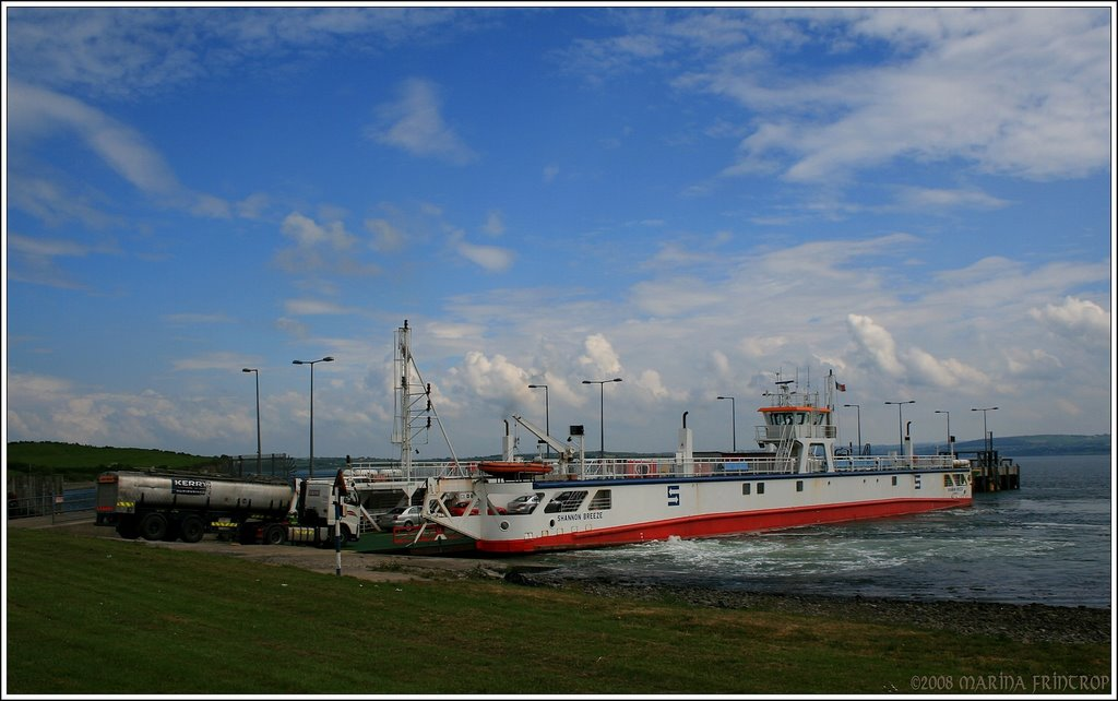 Shannon Ferry in Killimer (to Tarbert Co. Kerry), Ireland Co. Clare