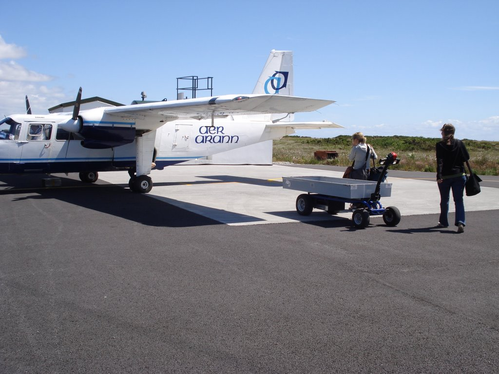 BALLYNAHOWN AIRPORT - TRIPS TO ININIS MORE (ARAN ISLANDS)- GALWAY -  IRELAND
