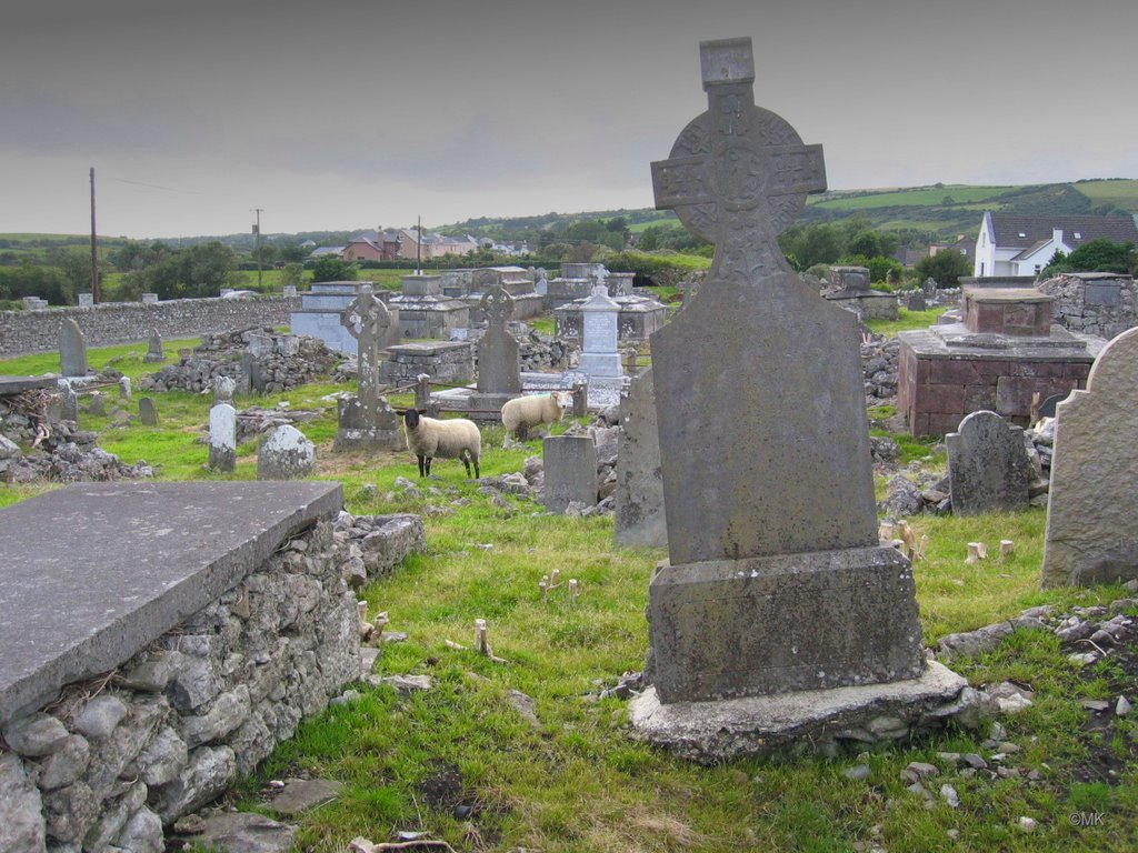 Burial ground near Tralee, Kerry, IRL