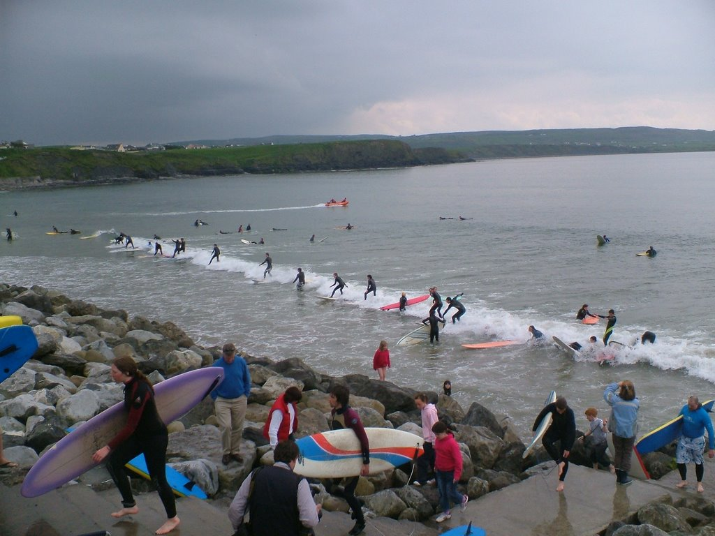 Surffing Lehinch *WORLD RECORD*