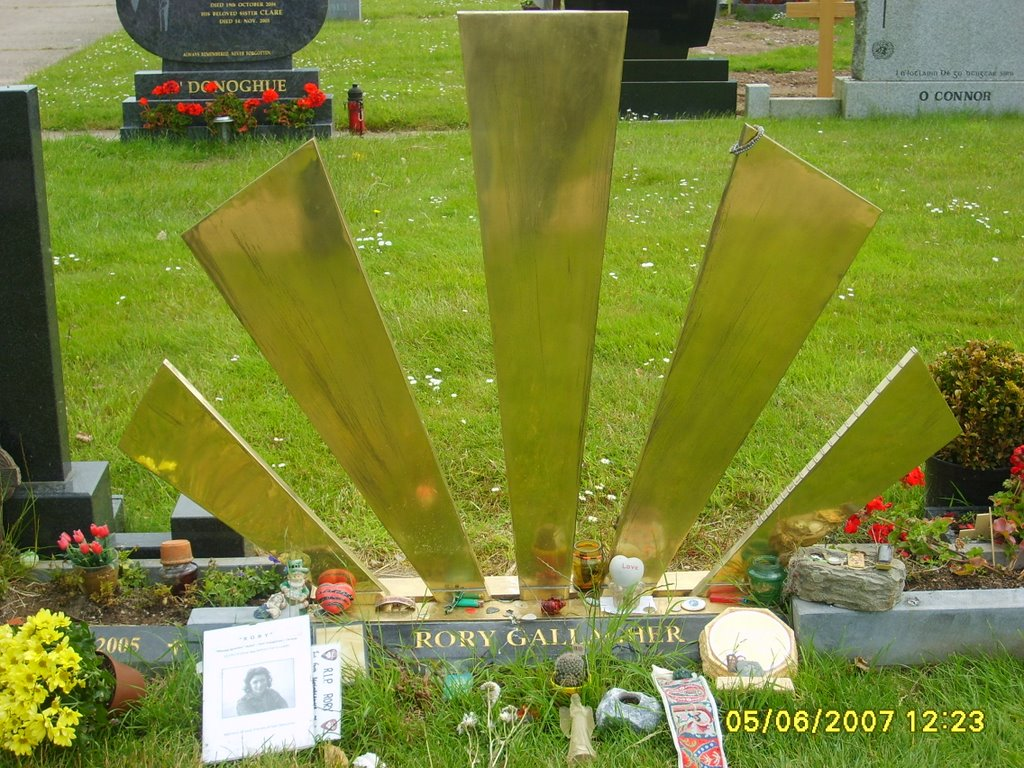 CORK-Rory Gallagher Grave