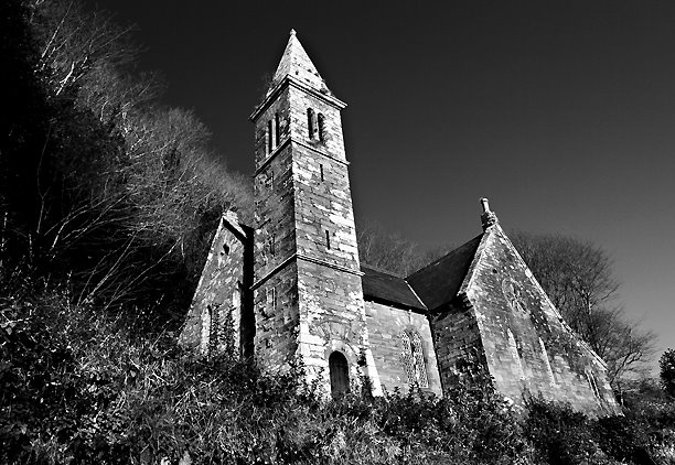 Church Of Ireland, Glandore, West Cork, Ireland.