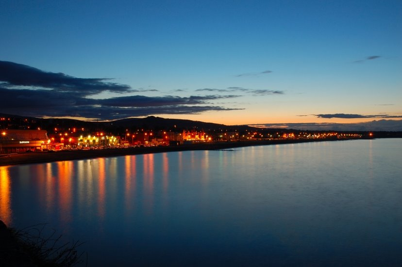 Bray Seafront at Dusk