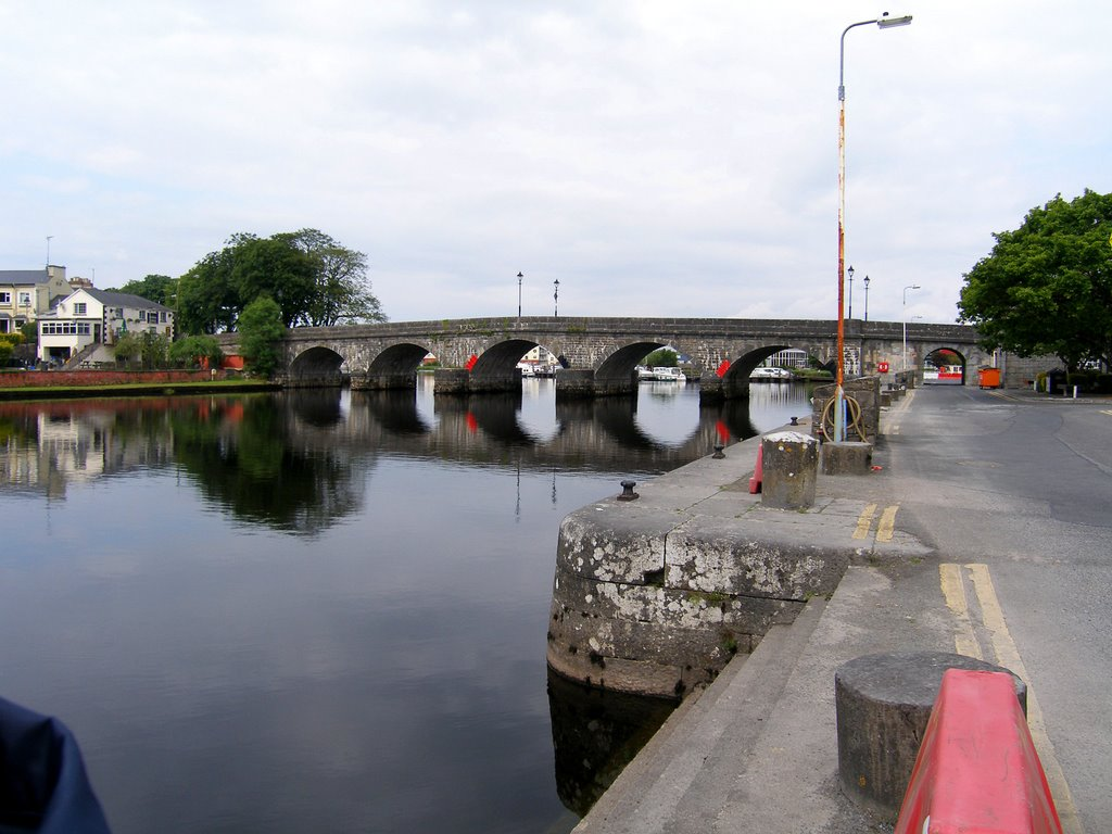 The dock and bridge
