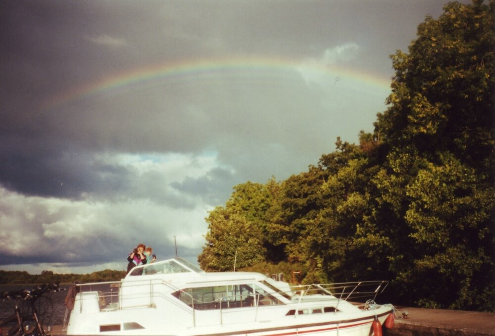 Regenbogen am Lough Key
