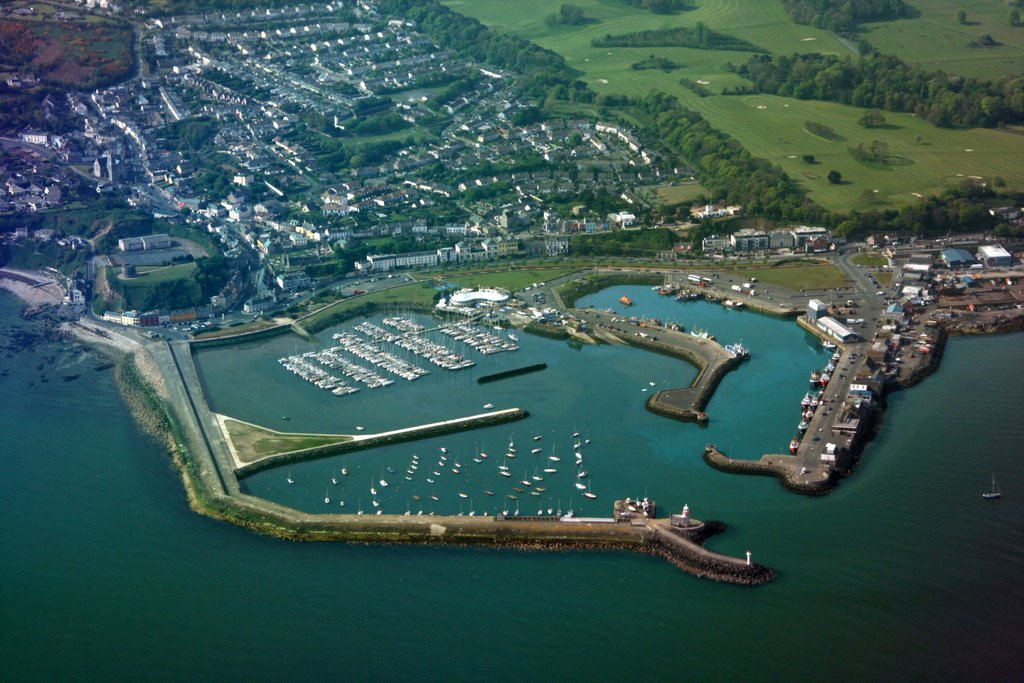 Howth Port, Marina, Approaching Dublin Airport