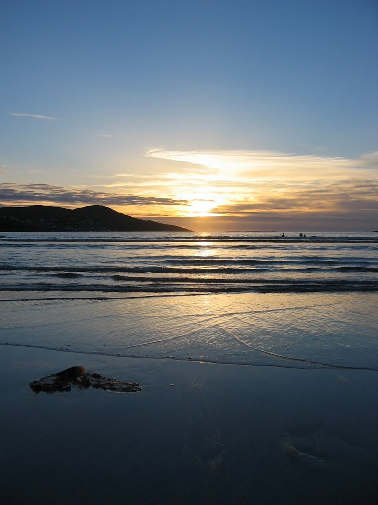 Portnoo - Sunset on Gweebara Bay