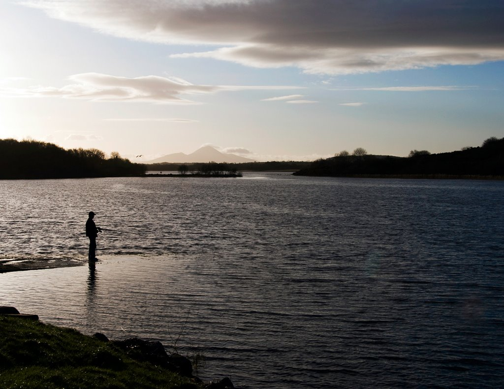 Fishing at Lough Lannagh