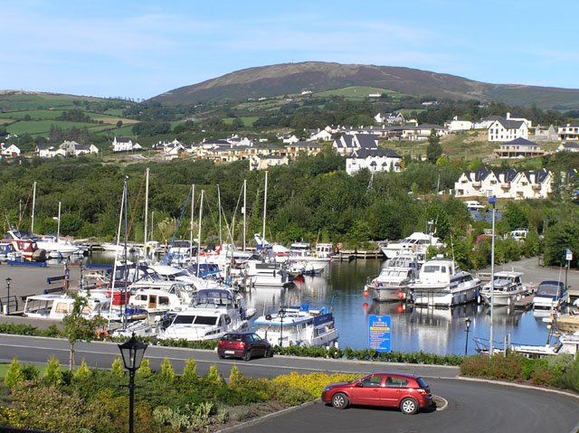 View from Kincora Hall Hotel, Killaloe