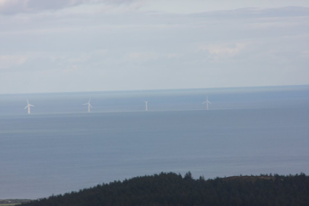Windfarm off the Wexford Coast