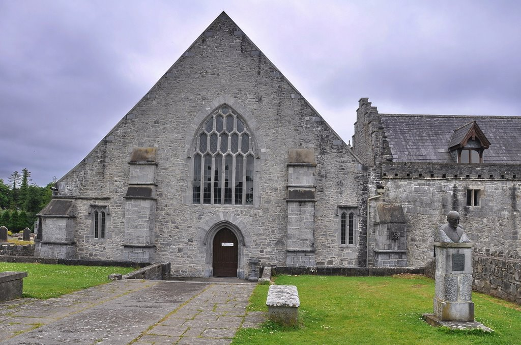 Holy Cross Abbey in Tipperary, Ireland.
