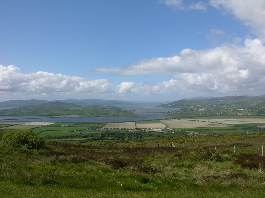 Grianan of Aileach - Panorama sul Donegal