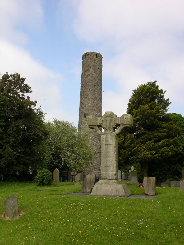 Kells - High Cross and Round Tower