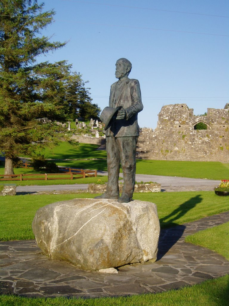 Statue of Michael Davitt, Straide Abbey