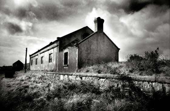 Abandoned Goods Shed, Achill Sound, Co Mayo, Ireland (closed 1934/7)