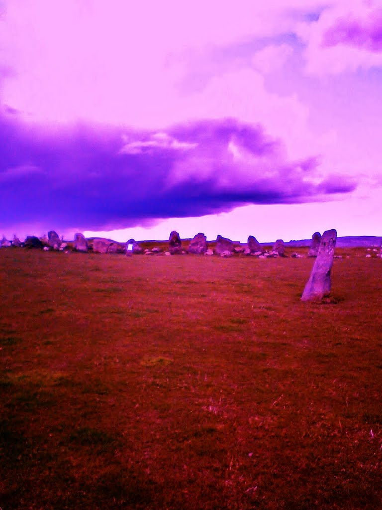 Beltany Stone Circle, Nr. Raphoe, Co. Donegal