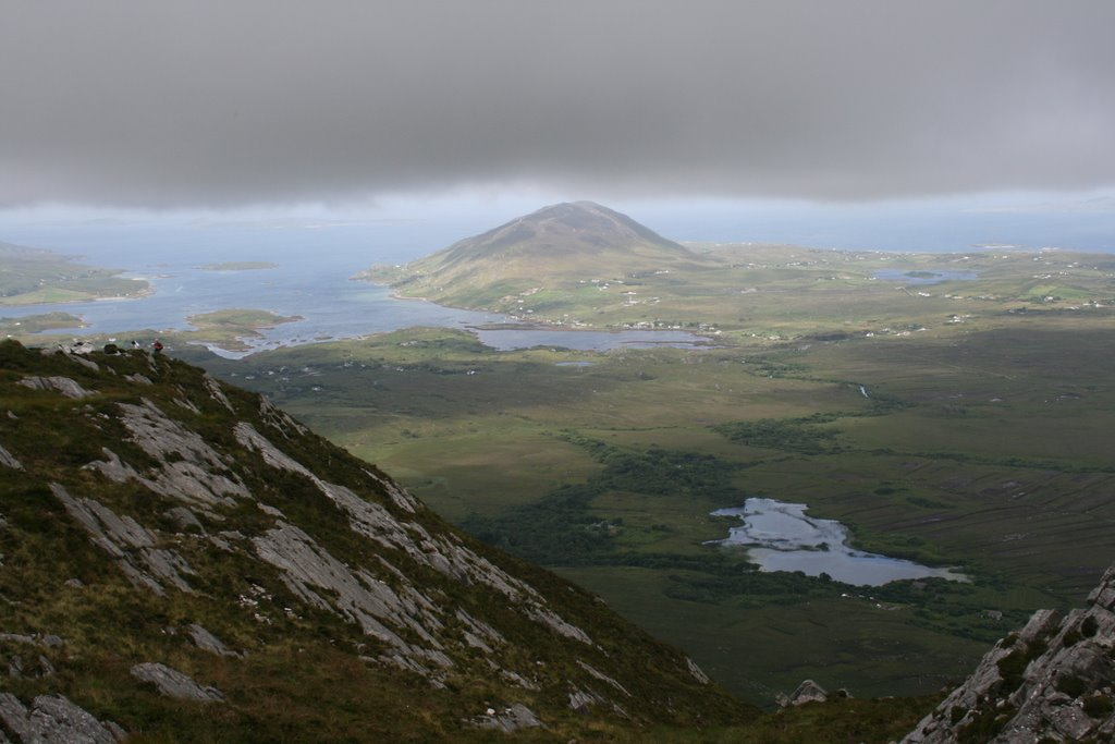 Diomond Hill climbing (Connemara National Park Letterfrack)