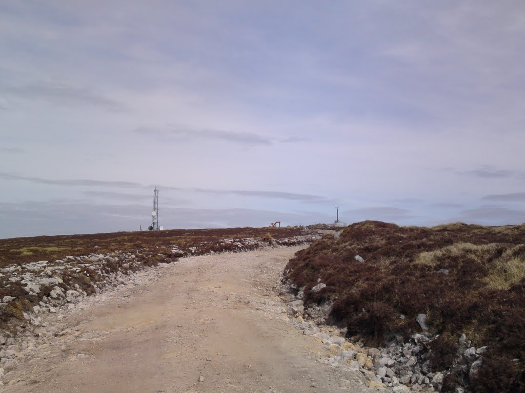 RTE Mast on Keeper Hill