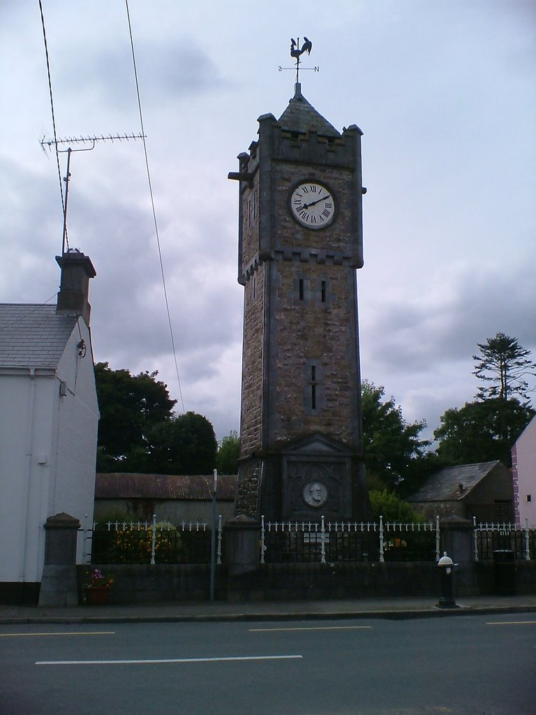 Keenagh clock tower.