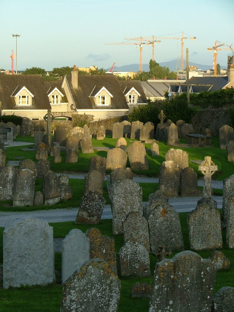 St Canice Cathedral Graveyard. Dwellings:Past, Present, and Future