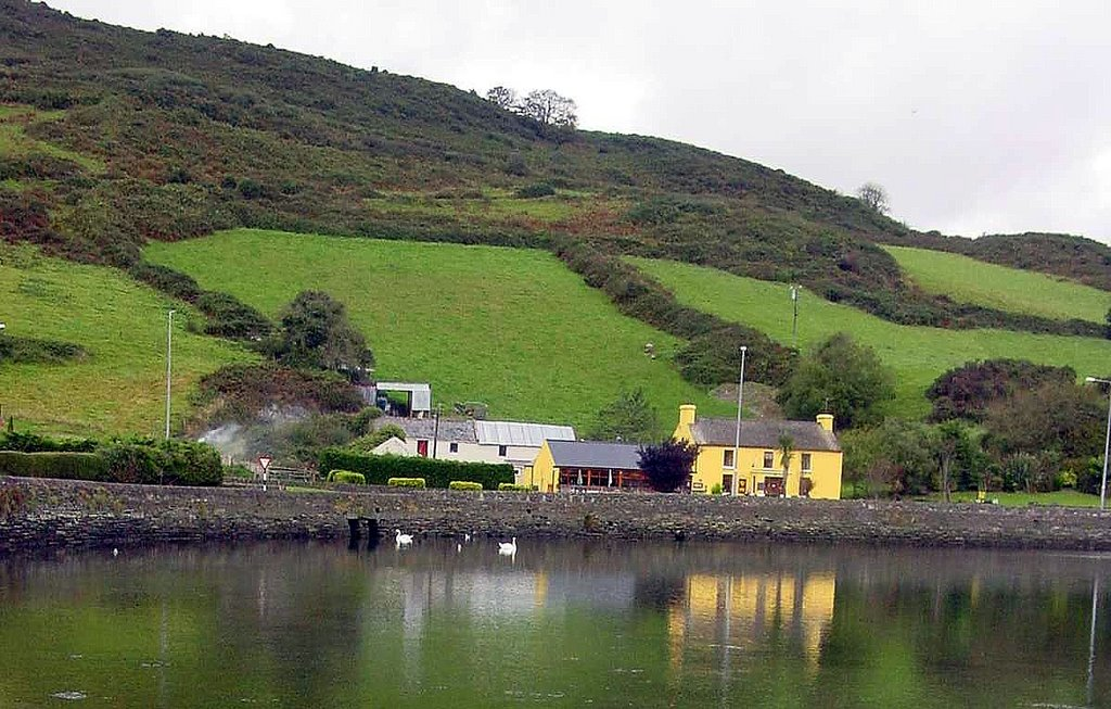 Yellow Reflection : Unionhall : West Cork