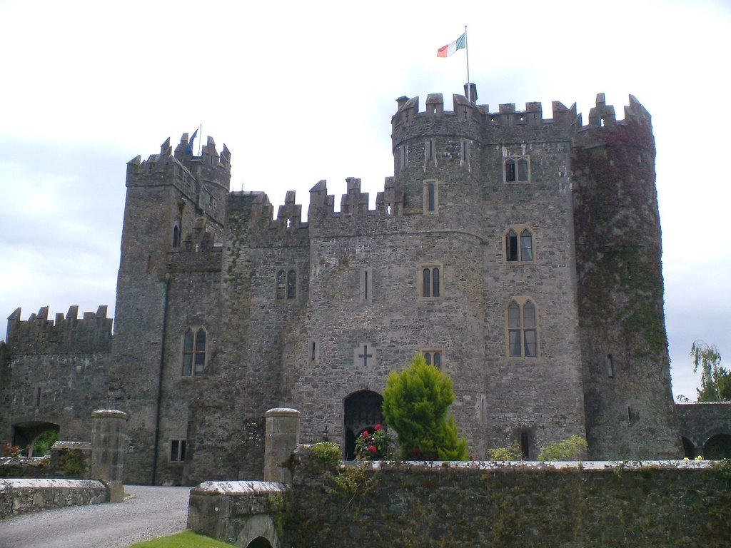 Kilkea Castle 1180. The oldest continuously inhabited castle in Ireland.