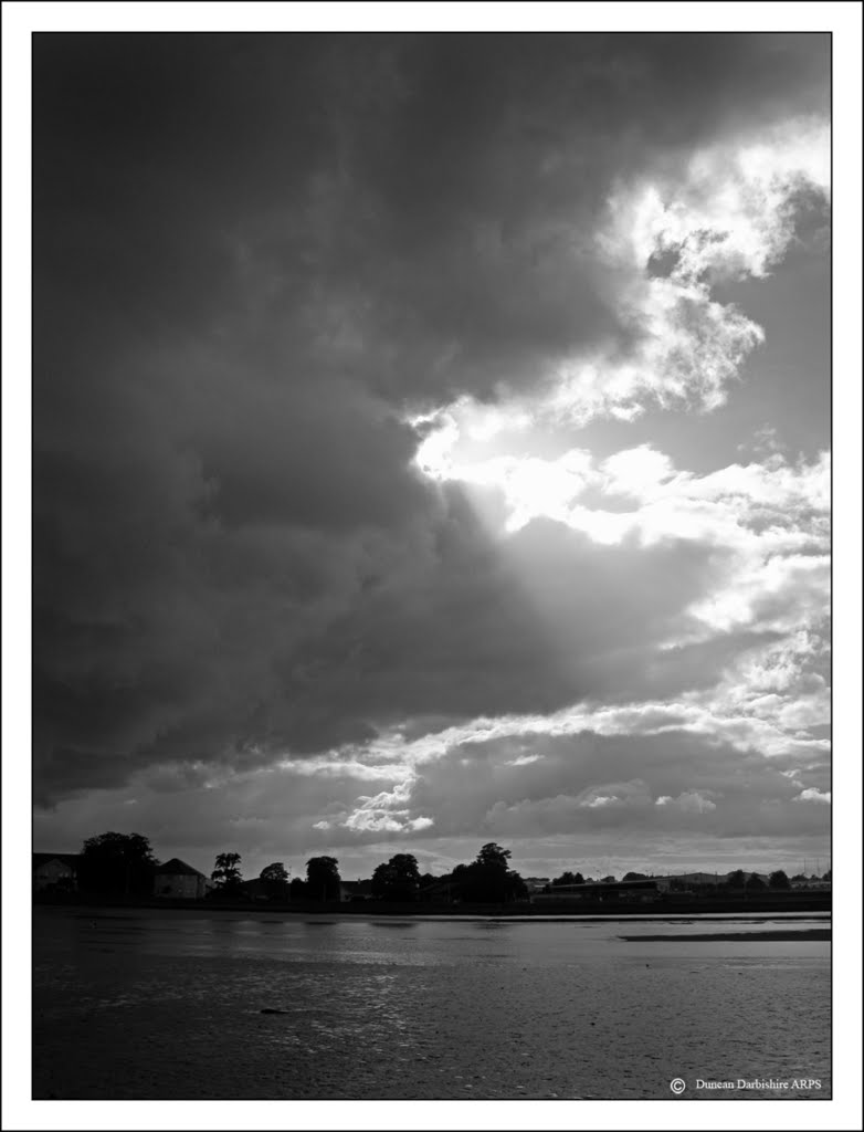 Storm brewing over Dungarvan