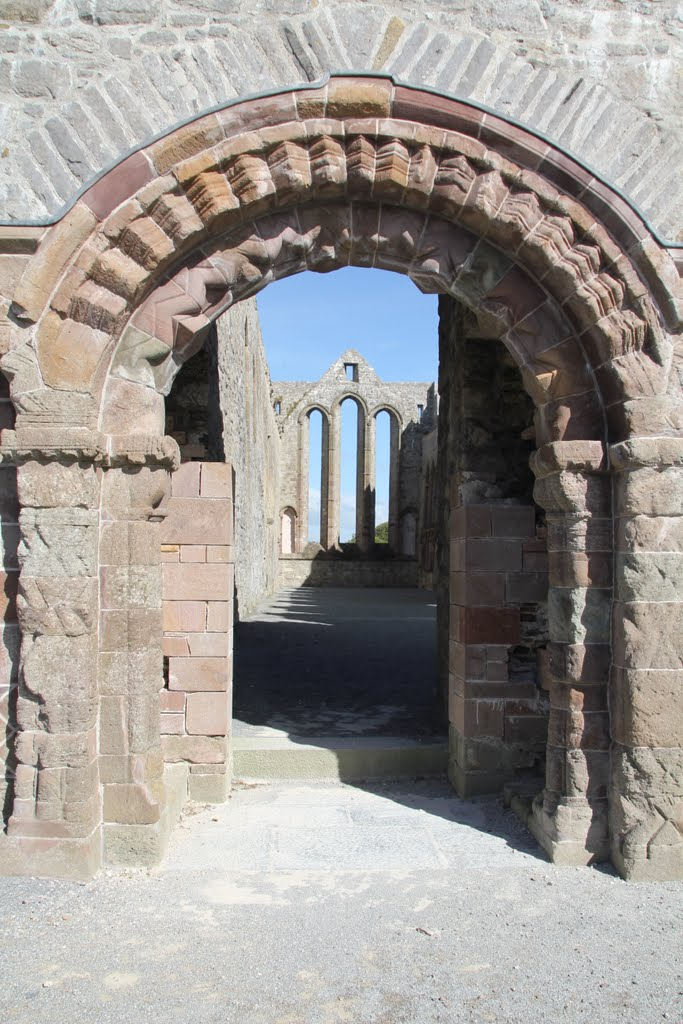 Roman Portal, Abbey, Ardfert, Co. Kerry, Ireland