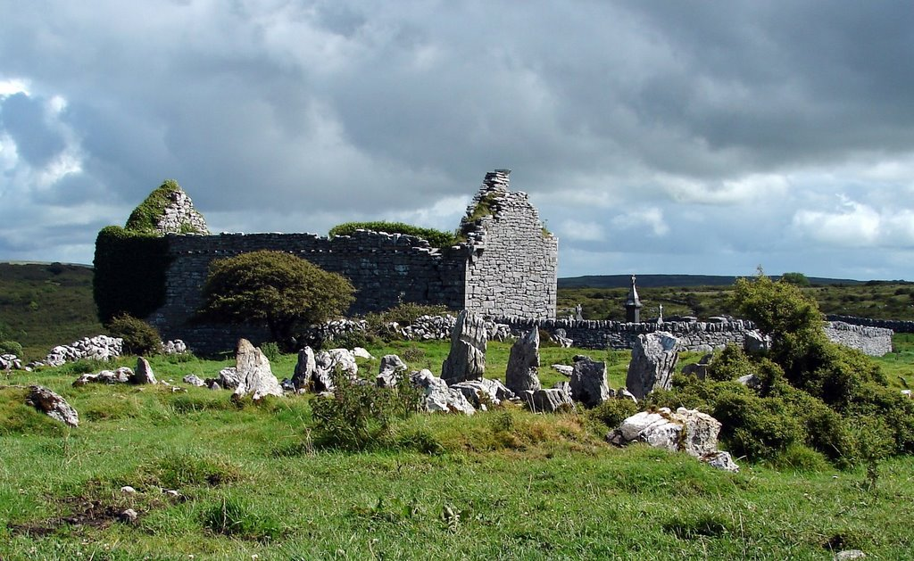 Carran Church, The Burren, Ireland