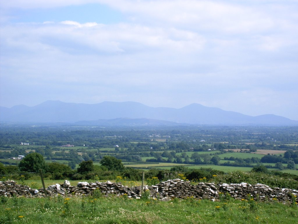 View of Galtee Mountains from Knockainey Hill