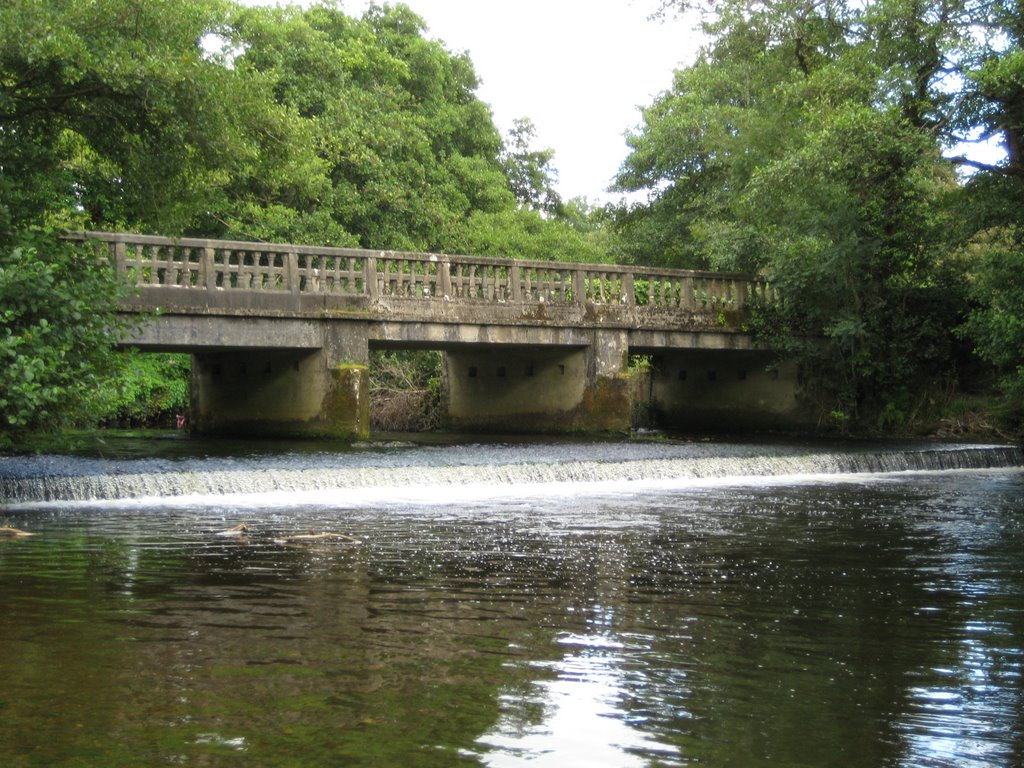 "The ""Metal"" Bridge, Currow"
