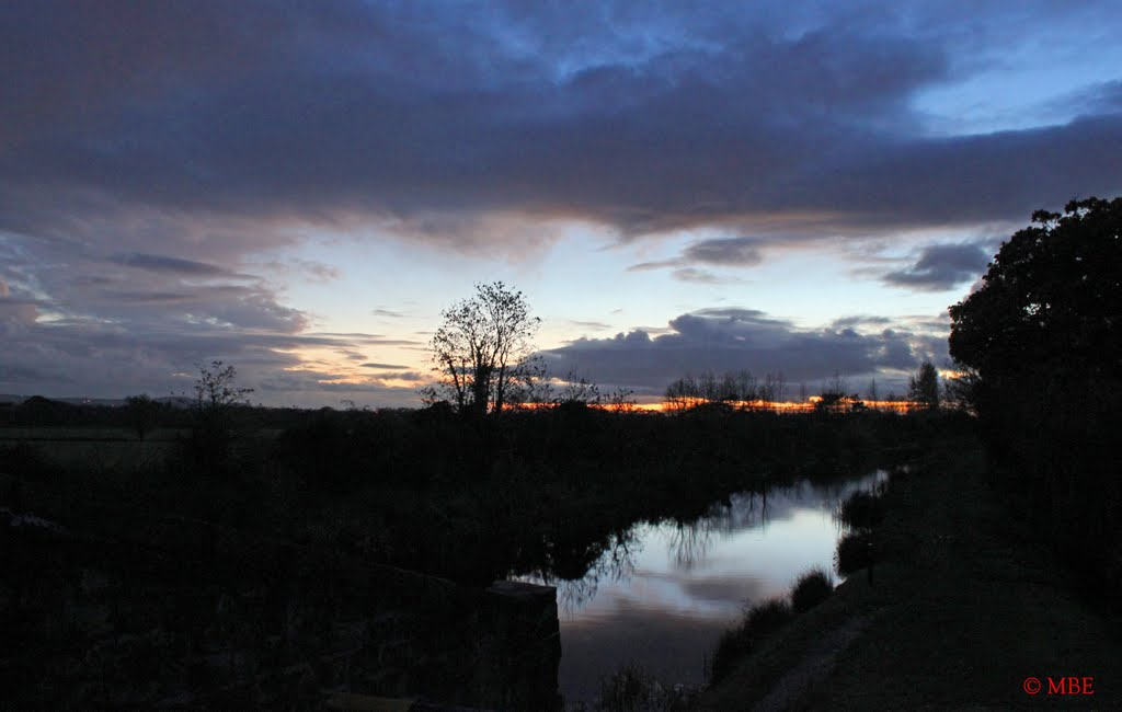 Days End on The Royal Canal