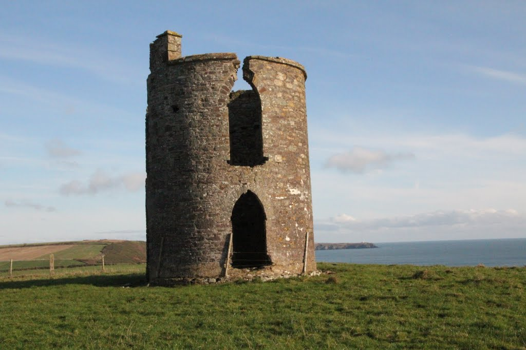 Tower, Near Roches Point, Co. Cork, Ireland