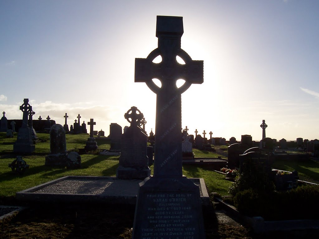 High Cross at Kilmoylan Cemetery