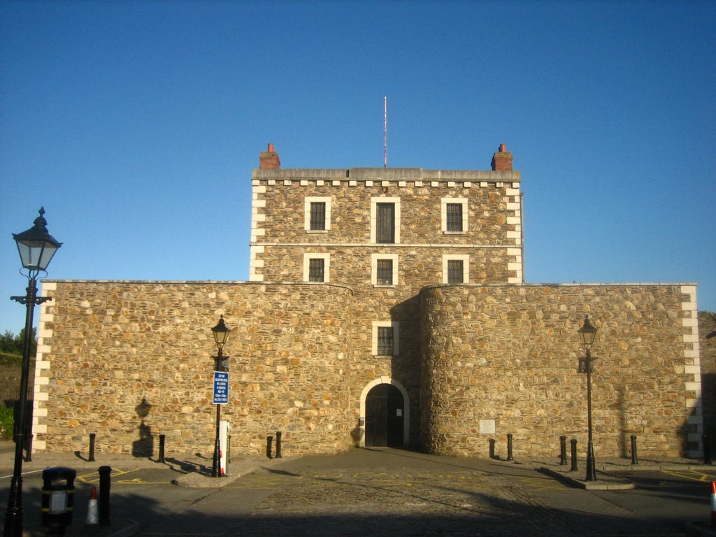 Wicklow´s historic gaol - Aug.2007