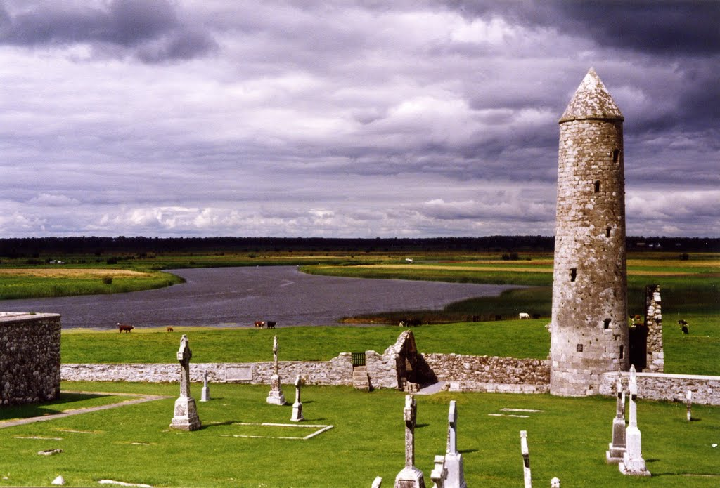Shannon River at Clonmacnoise