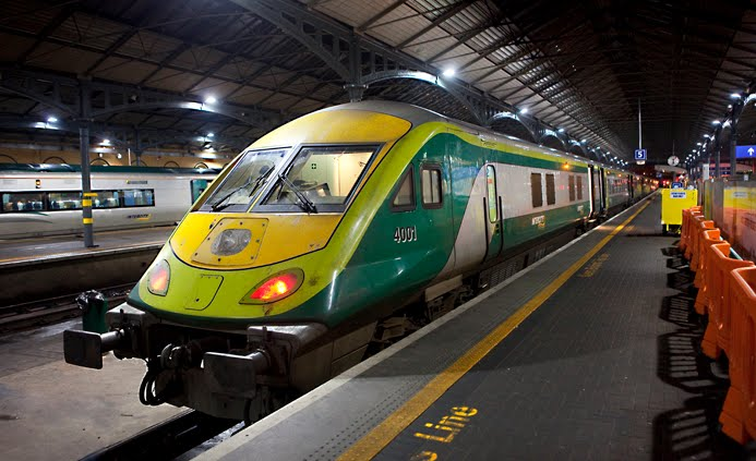 Cork - Dublin Express - Heuston Station, Dublin, Ireland.