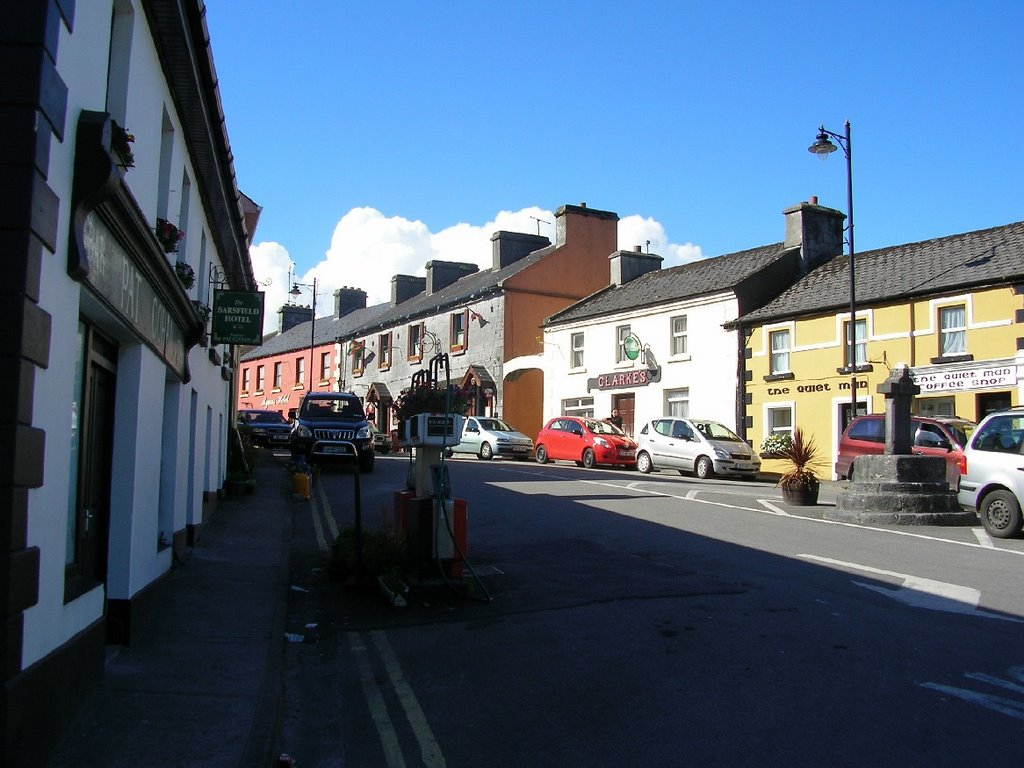 "Scene of the film ""The quiet man"" in Cong"