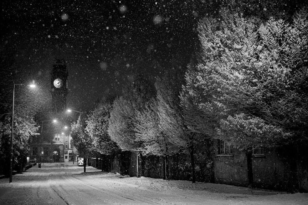 Snow, Leinster Rd, Rathmines, Dublin. Ireland