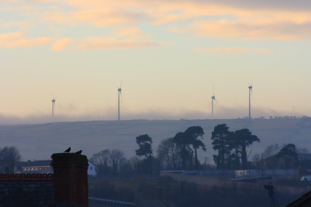 Windmills view from New Ross