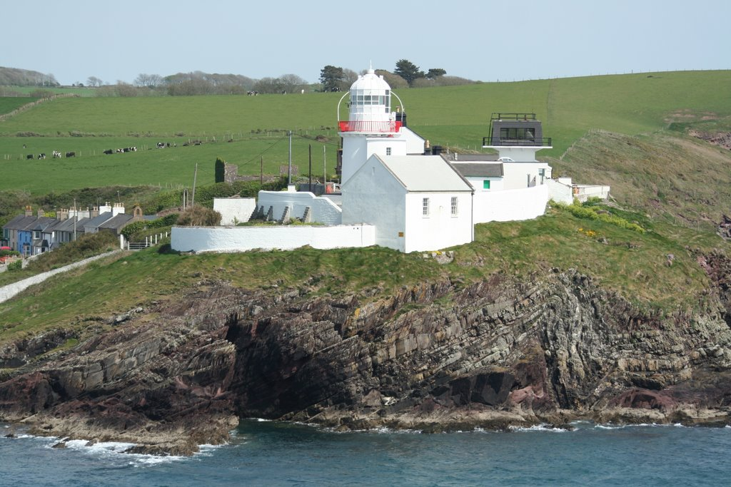 Lighthouse and Coastguard Cottages, Roches Point