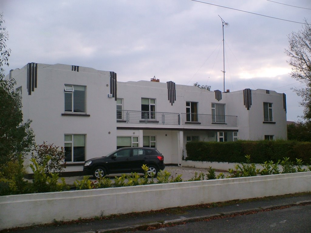 Art deco houses in Athlone