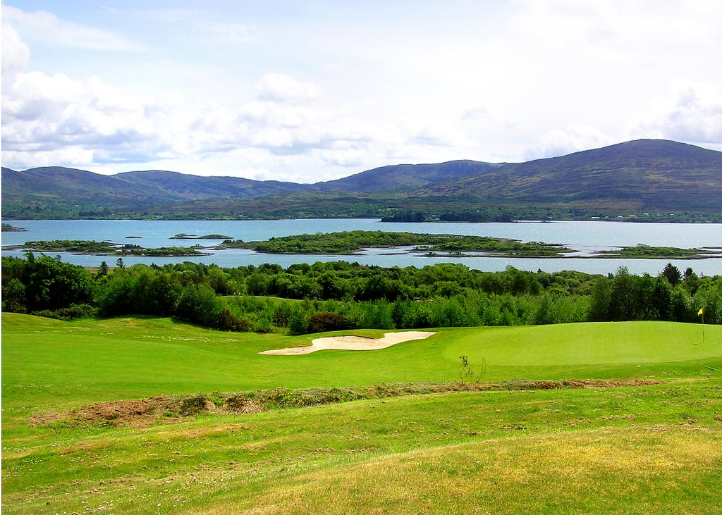 Fifteenth Green Ring of Kerry Golf Club