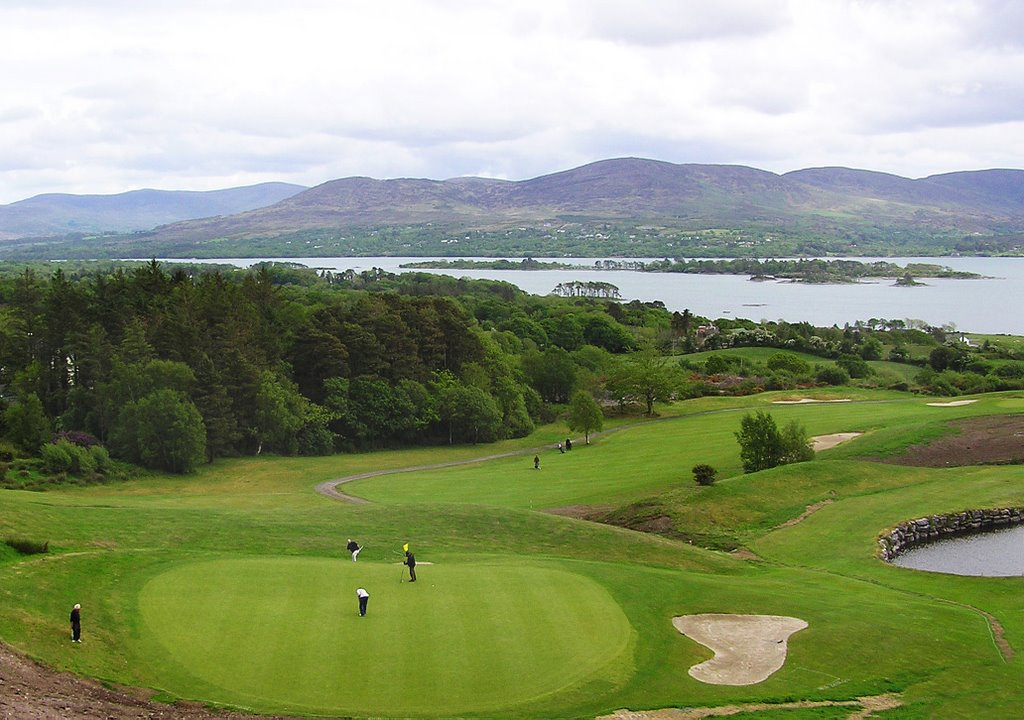 Eighteenth Green Ring of Kerry Golf Club