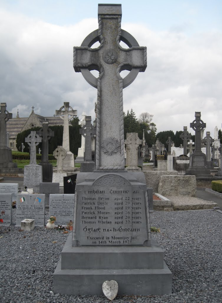 Republican Plot Memorial,Glasnevin Cemetery,Dublin ireland