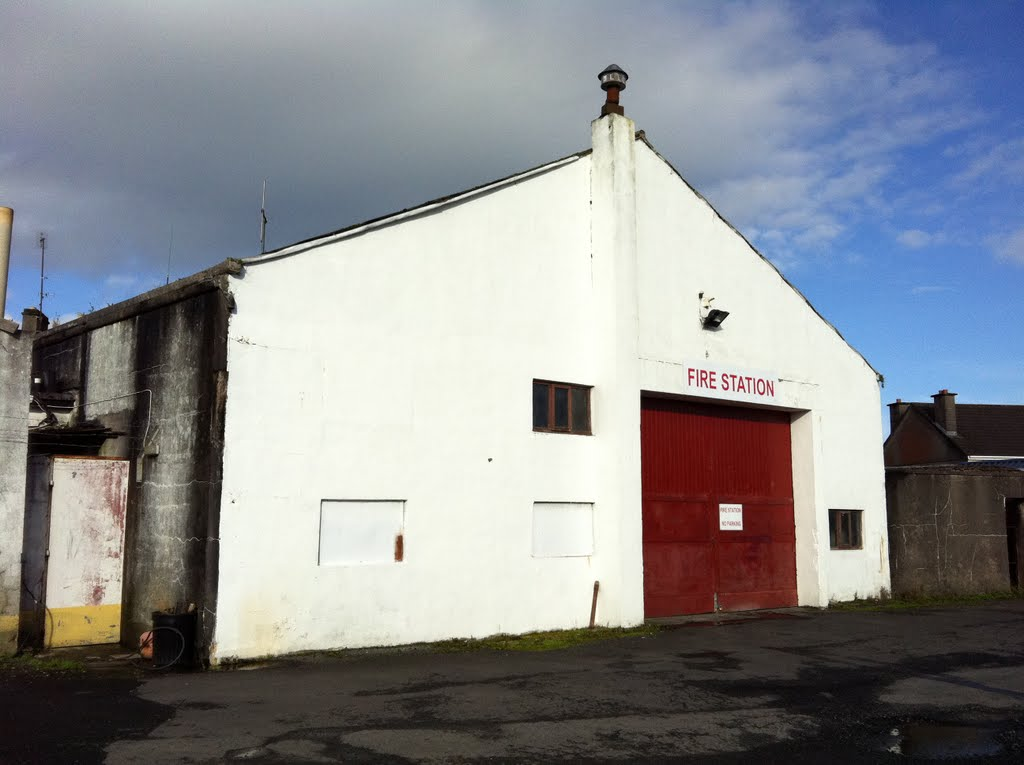 Crossmolina Fire Station.