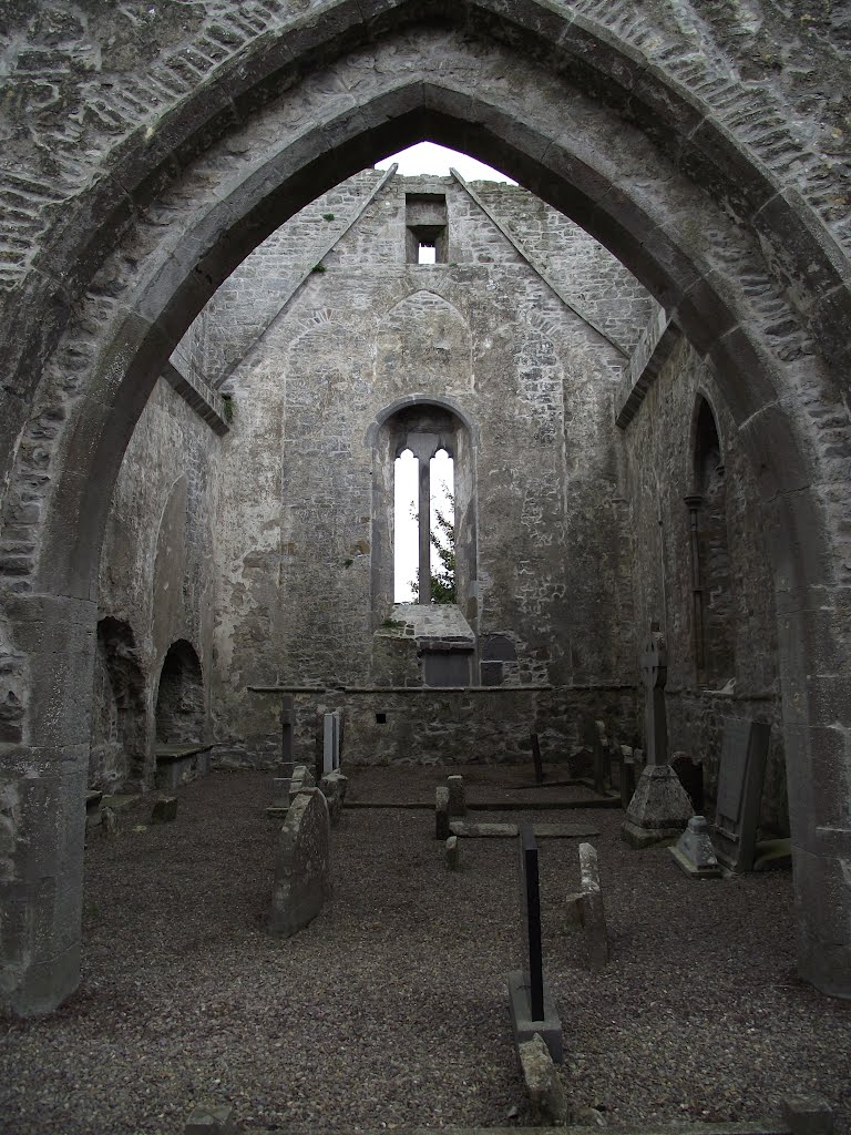 Ireland,Buttevant Friary,750 years!