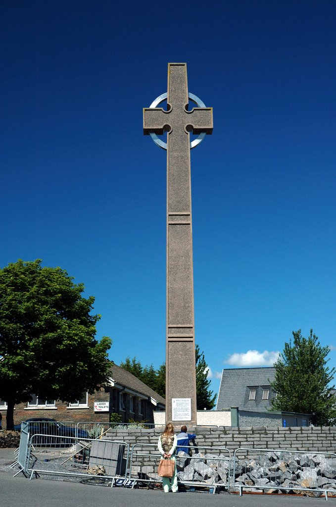 Papal Cross -  Knock